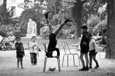 "Paris 1961 ""Luxembourg gardens"""