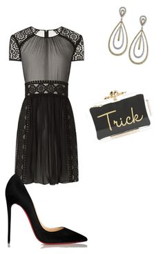 """""""Sin título #158"""" by shary-elivo on Polyvore featuring moda, Burberry, Christian Louboutin, Charlotte Olympia y Effy Jewelry"""