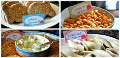 Under the Sea Party food-especially the fish shaped bread Little Mermaid Birthday, Little Mermaid Parties, Sea Party Food, Sea Food, 4th Birthday Parties, Birthday Ideas, 2nd Birthday, Octonauts Party, Bubble Guppies Party