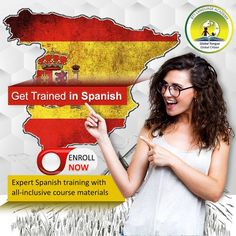 Expert Spanish training with all inclusive course materials.