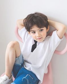 Cute Asian Babies, Young Cute Boys, Cute Little Boys, Cute Baby Boy, Cute Babies, Precious Children, Beautiful Children, Cute Boy Outfits, Kids Outfits