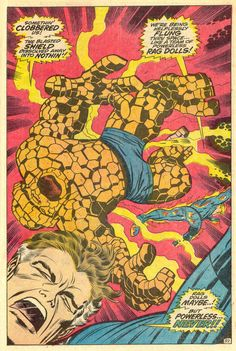 Per iniziare bene il weekend un #JackKirby e un #FantasticFour d'annata #comics