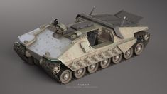 ArtStation - RD-500 GTO, Nick Foreman Army Vehicles, Armored Vehicles, Concept Ships, Concept Cars, Tank Armor, Terrain Vehicle, Sci Fi Models, Sci Fi Armor, Tank Design
