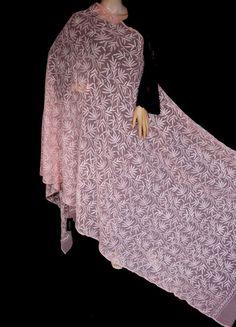 ISHIEQA's Peach Georgette Chikankari Dupatta - KL0101D Types Of Stitches, Black B, White Chiffon, Thread Work, Kurti, Kimono Top, Peach, Pure Products, Silk