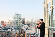 Jason + Sara's wedding at @Theultimateskybox was perfect. And this view?!!