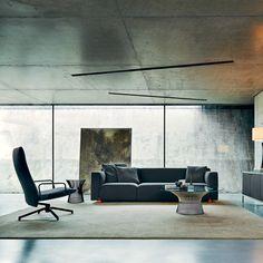 Barber Osgerby Asymmetric Sofa, Knoll