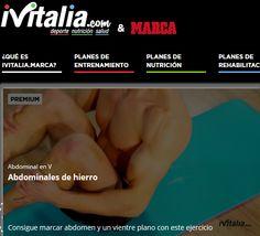 TRUCOS PARA CONSEGUIR UN VIENTRE PLANO Y ABDOMINALES ¡DE HIERRO!  #marca #iVitalia  > http://ivitalia.marca.com/ver-video--3353