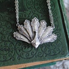 Silver Spoon Jewelry - Peacock Pendant Necklace