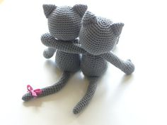 Crochet Cats by Lua Patch, via Flickr