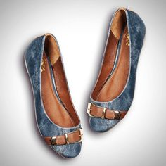 #Ballerinas2014 #Flats #Denim #shoes #México #VivelaModa #priceshoes…