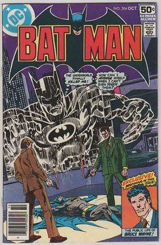 Batman V1 304.  VF. Oct 1978.  DC Comics by RubbersuitStudios #batman #comicbooks