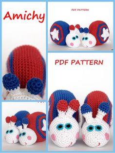 #Amigurumi #crochet #pattern 4th of July