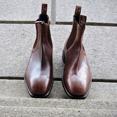 Rm williams boots Rm Williams, Mens Boots Fashion, Men's Fashion, Men's Shoes, Dress Shoes, Smart Dress, Winter Gear, Sneaker Boots, Casual Boots