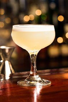 The White Lady:  1.05 Oz Dry Gin .75 oz Orange Liqueur .75 Oz Lemon Juice Pour in shaker, fill with ice, shake, strain
