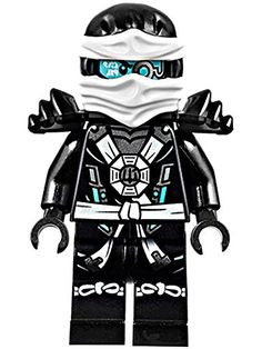 Amazon.com: LEGO Ninjago Zane Minifigure w/ Aeroblade and Deepstone Armor 2015: Toys & Games