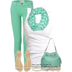 Mint Chevron Scarf :) CLICK THE PIC and Learn how you can EARN MONEY while still having fun on Pinterest