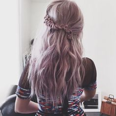 Debby Ryan Lavender Hair