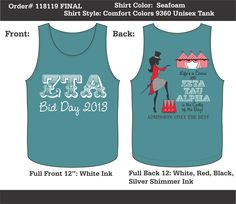 Recruitment T-Shirts That ROCK!  Customize this design for your chapter. Just click the image to get started...  #recruitment #bidday #sororityshirts #sisterhood #sorority
