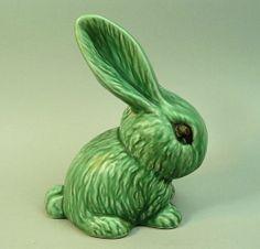 Sylvac green bunny