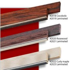Wood Binding Design