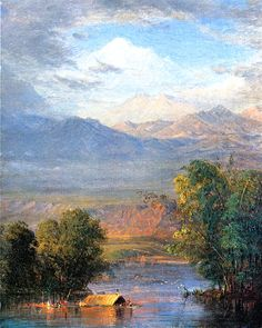 Frederic Edwin Church - The Magdalena River, Equador