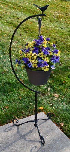 Garden Hanging Basket Planter Frame Sun Hill Industries
