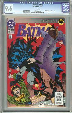 Batman # 492 (1993) CGC 9.6 White Pages 2725678016