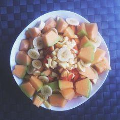 Aquí almorzando. Provecho! // Here having lunch. Bon appetite! | #Food #Comida