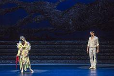 Zorba, el griego. Ballet de Santiago. John: Gabriel Bucher y Madame Hortense: M. Dolores Salazar. Foto: Patricio Melo