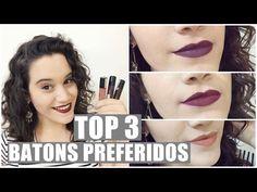 TOP 3: BATONS PREFERIDOS DO MOMENTO - YouTube