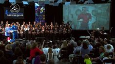 "Chris Hadfield in space and students from coast-to-coast fill the sky with music (excerpt) ""Is somebody singing"""