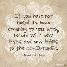 God speaks most clearly through His Word. Read the Scriptures.