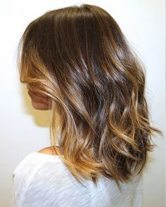 Fun color idea for medium length hair