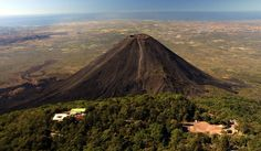 Izalco is a stratovolcano on the side of the Santa Ana Volcano, which is located in western El Salvador.