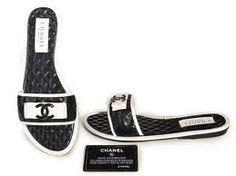 Chanel Slipper Black 009
