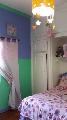 Jazmyns floral butterfly bedroom