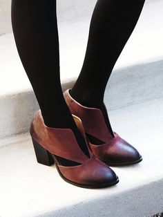 Free People Deep V Ankle Boot, $158.00