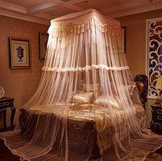 Zewik Lace Curtain Kingsize Bed Canopy Netting Princess M... https://www.amazon.com/dp/B015387OJI/ref=cm_sw_r_pi_dp_kMYCxb1G0HCSA