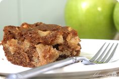 "This past weekend, I made a delicious apple cake for our church potluck. I love that the cake recipe calls for four cups of fresh apples. Yum! I've also been on a caramel kick lately {see here & here}, so I asked my hubby if I should add a glaze and he said, ""For sure!""..."