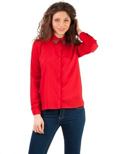 "Camasa ""Blank Space "" Red"