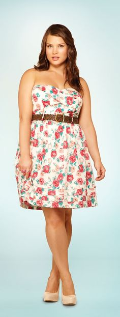 Torrid: Natural Beauty- love the dress and would love the tan! Lol