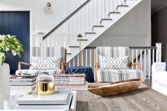 HOUSE TOUR: A Layered & Laid-Back Bridgehampton Home