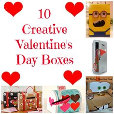 10 Creative Valentine's Day Box Ideas That You Can Make At Home These Diy Valent. - 10 Creative Valentine's Day Box Ideas That You Can Make At Home These Diy Valentines Day Boxes Ar - My Funny Valentine, Valentine Day Boxes, Valentines Day Party, Valentines For Kids, Valentine Day Crafts, Valentine Ideas, Valentine Games, Valentine Stuff, Printable Valentine