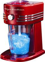 Nostalgia Electrics - Frozen Beverage Maker (082677242310) Create delicious slushy drinks, margaritas, smoothies and more with this Nostalgia Electrics frozen beverage maker, which features fine and coarse ice shaving options and a BPA-free pitcher that features level lines for easy measurements.