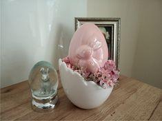 Spring Home Decor, Door Wreaths, Snow Globes, Ice Cream, Easter, Garden, Manualidades, Bunnies, No Churn Ice Cream