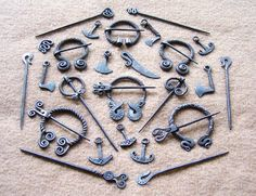 I'm madly in love with the viking-style jewlery from this finnish smith, unfortunately for me, he does not sell any of his work online.
