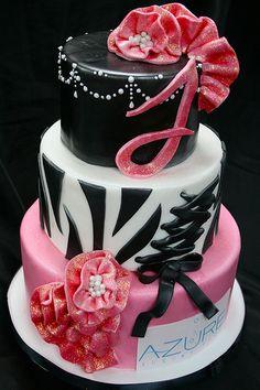 Sassy Bachelorette Cake