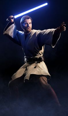 Obi-Wan Kenobi Star Wars Battlefront II - Star Wars Clones - Ideas of Star Wars Clones - Obi-Wan Kenobi Star Wars Battlefront II on Xbox One Star Wars Saga, Star Wars Fan Art, Star Wars Clone Wars, Obi Wan, Alec Guinness, Starwars, Star Wars Episode Iv, Star Wars Pictures, Pose