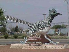 Paisano Pete, World's Largest Roadrunner, Fort Stockton, Texas