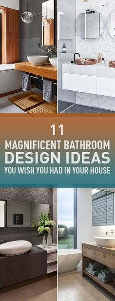 Designing a stylish bathroom is always a challenge especially if you have a limited space. However there are some ideas and guidelines that will help you to make your bathroom look and feel gorgeous that you want to spend more time in it. If you think your bathroom is boring and youâre considering remodeling it then this list of design ideas will inspire you. Just remember the first rule to have a perfect bathroom is to keep it simple and only select the ideas that fit your space.